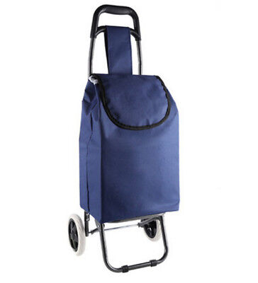 A149 Rugged Aluminium Luggage Trolley Hand Truck Folding Foldable Shopping Cart