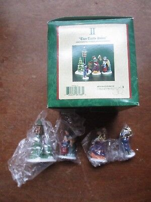 Dept 56 Dickens Village,Twelve 12 Days of Christmas Day II Two Turtle Doves