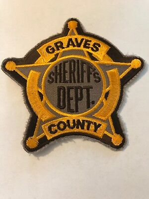 Graves Co Sheriff KY Kentucky Police Patch