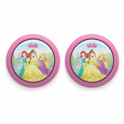 Philips Disney Princess Battery Powered LED Push Night Light Nightlight, 2 Pack