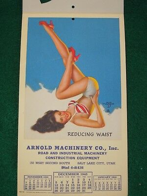 WWII US Home Front PIN UP GIRL Reduce Waist Advertisement V-Mail Military Letter