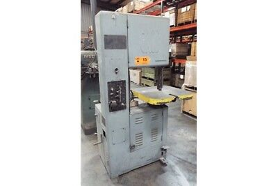 Grob Inc. Vertical Band Saw; With Band Welder,