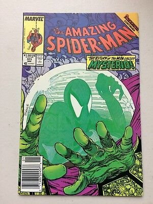 Amazing Spider-Man #311 (1988) FN/VF 7.0 - RARE NEWSTAND EDITION - NO RESERVE