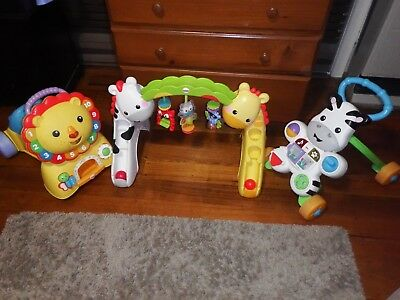 Fisher Price Baby Lion Walker & Ride On Good Used Condition