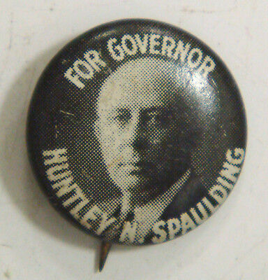 For Governor Huntley N. Spaulding (Illinois 1933-1940, died in office)