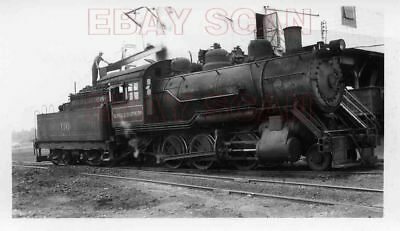 8J622 Rp 1952 Bevier & Southern Railroad 2-6-0 Loco #110