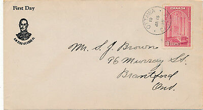 Canada 241a First Day Cover Ottawa June 15, 1938