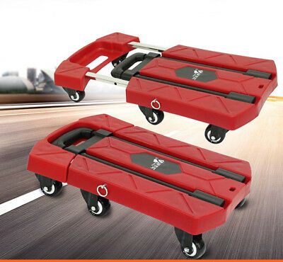 A14 Rugged Aluminium Luggage Trolley Hand Truck Folding Foldable Shopping Cart
