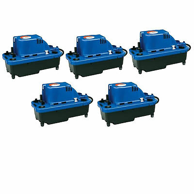 Little Giant VCMX-20ULS 1/30 HP Automatic Condensate Removal Pump (5 Pack)