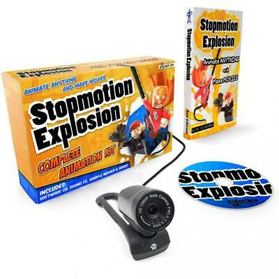 Stopmotion Explosion: Complete HD Stop Motion Animation Kit | Software with...