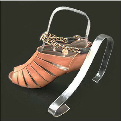 Women Clear Acrylic Plastic Sandal Lady Shoes Display Stand Inserts Holders Cute