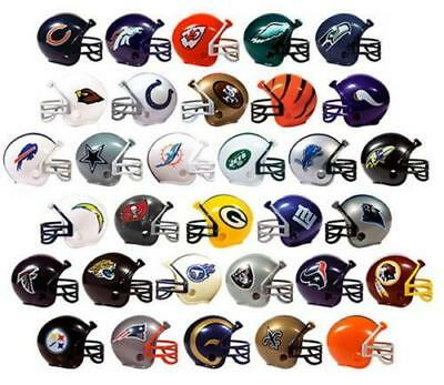 Gumball Vending Mini Nfl Helmets Pencil Toppers ~ Complete Set Of All 32 Teams