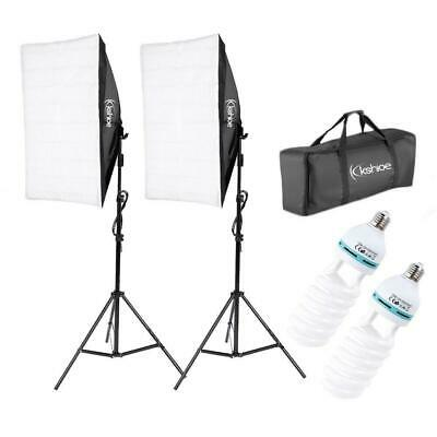 "Photography Lighting 20""x 28"" Softbox Photo Equipment Soft Studio Light Kit US"