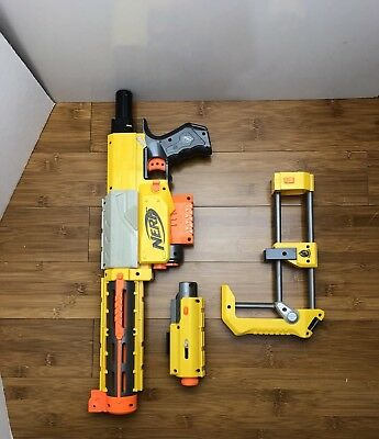 NERF N-strike Recon CS-6 W/ Scope Light, Shoulder Stock GREAT CONDITION