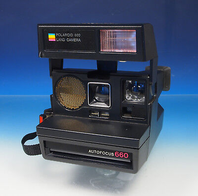 Polaroid 600 Land Camera Sofortbildkamera Autofocus 660 - (201205)
