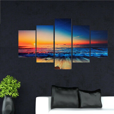 Vintage Modern Abstract Wall Ornaments Oil Painting On Canvas Decor Unframe