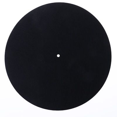 Felt Platter Turntable Mat LP Slip Mat Audiophile 3mm Thick For LP Vinyl Record