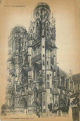 Cp Toul Cathedrale 16492