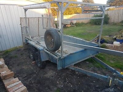 8x5 Tandem Trailer with Ramp