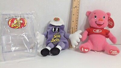 Jelly Belly miniature candy bin with scoop purple bean Very Cherry Pig