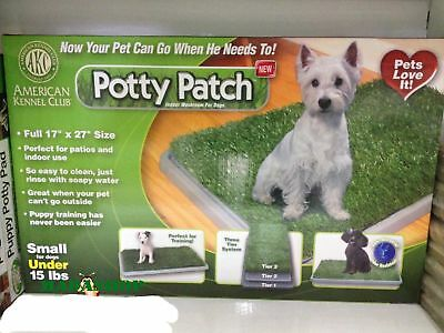 Lettiera Per Cuccioli Cani Cane Potty Patch Toilette Erba Sintetica Wc Dog