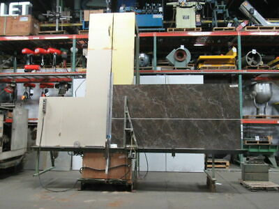 Rogers 707V Industrial Production Vertical Panel Saw 10' Cut 16' Bed 208V 3Ph