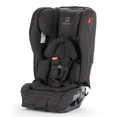 Diono Rainier 2 AXT Convertible Child Safety Car Seat + Booster Black