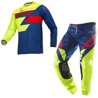 KENNY Track Motocross Jersey Hose 2019 lime navy rot Offroad Enduro MX Cro