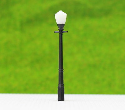 LCX03 10pcs Model Railway Lamppost lamps Street Lights HO OO TT Scale NEW
