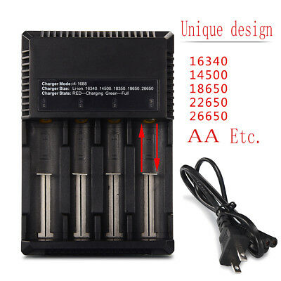 Intellicharger i4 Battery Charger For 26650/22650/18500/18650/18350/16340/14500