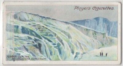 Ferrar Glacier Shackleton Expedition  Antarctic 1908 c100 Y/O Trade Card