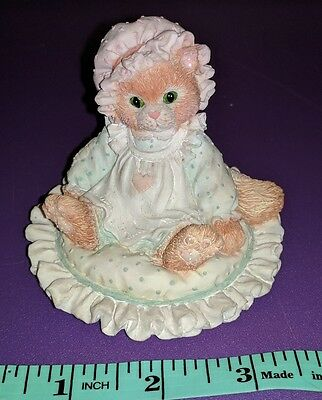 Enesco Calico Kittens Just Thinking About You Cat by Priscilla Hillman