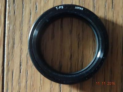 T PS fit T mount adapter for slide copier or telescope