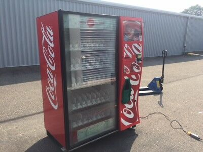 Nice And Clean Dixie Narco Dn5000 Elevator Soda Drink Vending Machine Bevmax