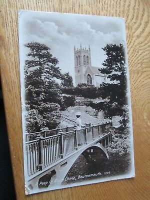 Postcard of A Peep in Alum Chine, Bournemouth (posted)