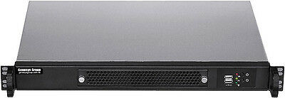 """1U (Short D:11.8"""") (4 x 2.5"""" HDD) (Rackmount Chassis) (Micro-ATX / ITX) Case NEW"""