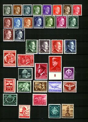 3. Reich collection with Hitler Swastika MLH !