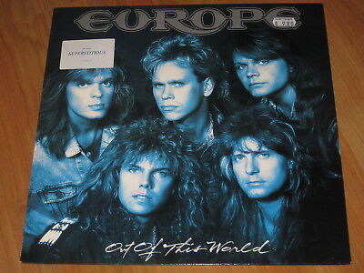 Europe - Out of this world LP 1988 / TOP   ( 6 )