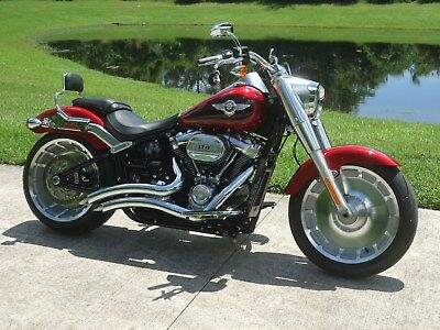 2018 Harley-Davidson Softail  2018 Harley Fatboy 114 only 225 miles and absolutely like new !!!