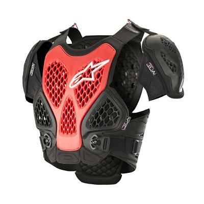 ALPINESTARS Bionic Full Chest Motocross Brustpanzer 2019 schwarz rot Motocross E