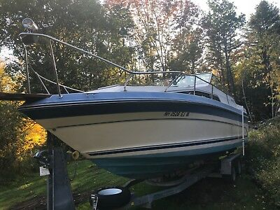 1988 Sea Ray 268 Weekender 26' Cabin Cruiser - New Hampshire