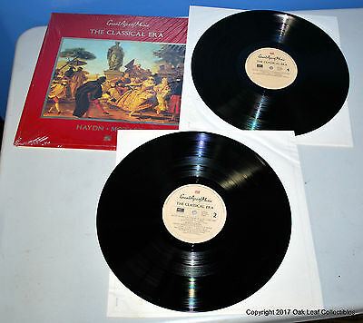 Great Ages of Music #2: The Classical Era 2 LP Record Set Time Life