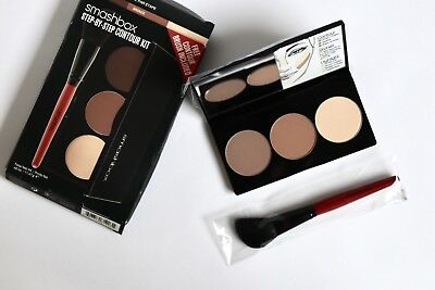 Smashbox Palette Contouring Kit Bronzer Highligter Pinceau Neuf