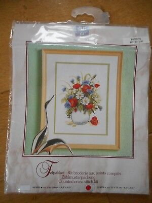 Poppies and Cornflowers  - Cross Stitch Kit by Vervaco
