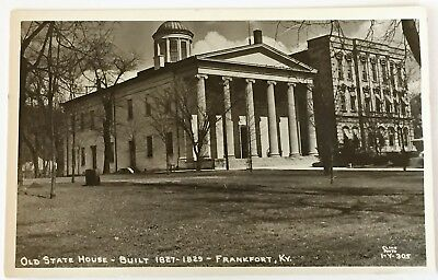 RPPC Old State House - Built 1827-1829 - Frankfort Kentucky KY