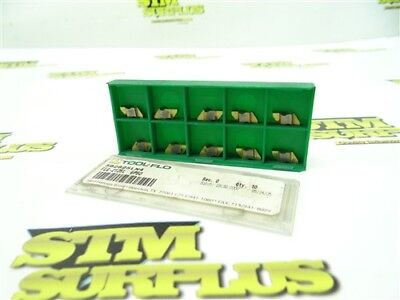 10 New Tool Flo Solid Carbide Top Notch Indexable Inserts Flg-2125L Gp50