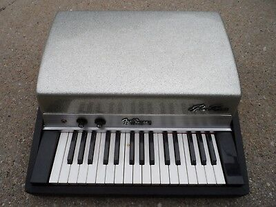 Vintage Fender Rhodes Piano Bass Silver Sparkle * Must See!! No Reserve!
