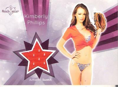 2014 Benchwarmer Card Kimberly Phillips Authentic Swatch
