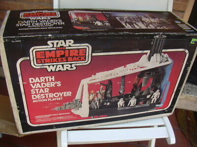 STAR WARS KENNER 80 's EMPIRE STRIKES BACK DARTH VADER 'S STAR DESTROYER PLAYSET