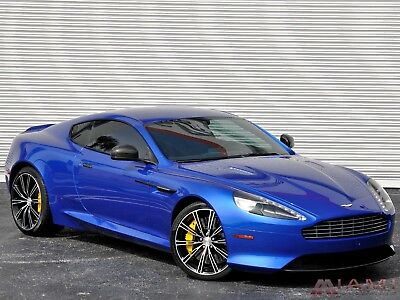 2015 Aston Martin DB9 Carbon!! Warranty!! $217K MSRP! 2015 Aston Martin DB9 Coupe Carbon Edition Cobalt Blue!! 3K Miles! Warranty!!